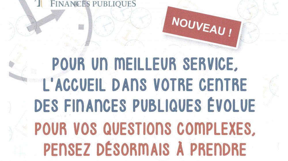 Nouveauté du service des Impôts des Particuliers de Thonon-les-Bains