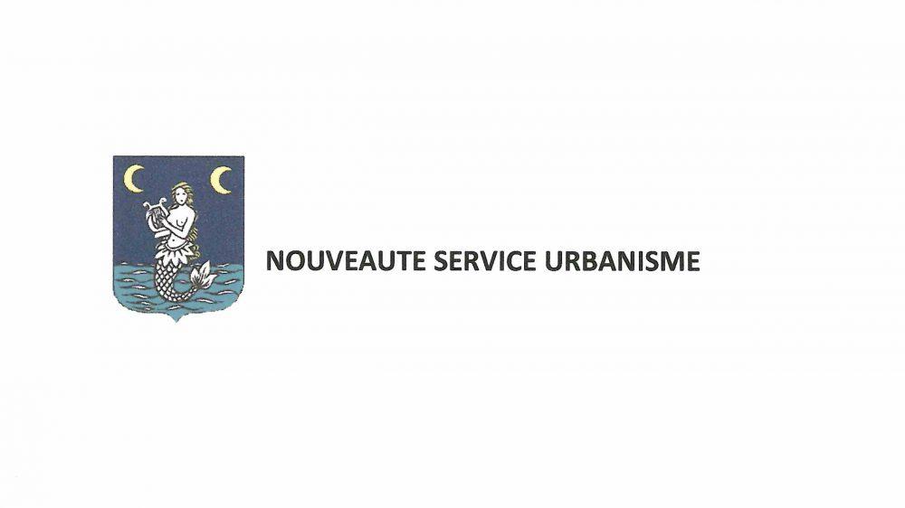 A COMPTER DU 15 MAI 2018, LE SERVICE URBANISME VOUS RECOIT UNIQUEMENT SUR RENDEZ-VOUS