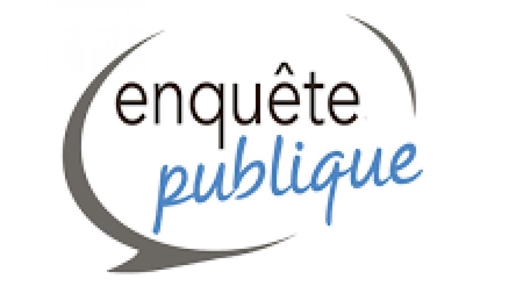 ENQUETE PUBLIQUE : DESAFFECTATION ET ALIENATION CHEMIN RURAL DE LA SABLIERE